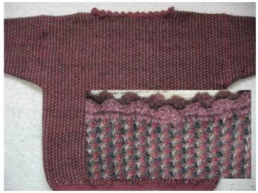 2/2 Twill Woolen Pullover (with detail), 2002
