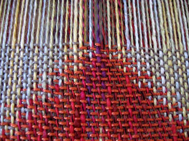 Double Weave Eva Stossel S Weaving Blog
