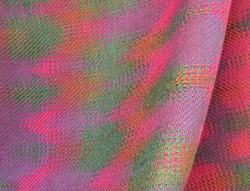 Echo Weave, Tencel, 2013 (close-up of a scarf)