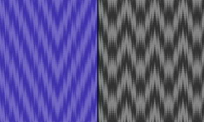 Mahesh's Ikat-Inspired Networked Twill Designs