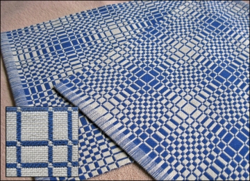 Double Weave Placemats, Cotton, 2014